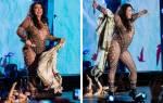 Певица Валерия жестко ответила на критику своих образов с фестиваля «Жара»