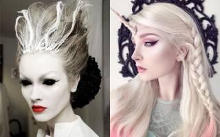 Прически на Хэллоуин: для девочек, девушек и парней на длинные, средние и короткие волосы, фото, как пошагово сделать укладку своими руками, подборка интересных образов