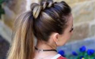 Прически в школу для девочек: легкие и красивые варианты за 5 минут на каждый день для подростков и детей на длинные, средние, короткие волосы, инструкции как их быстро сделать, фото, видео