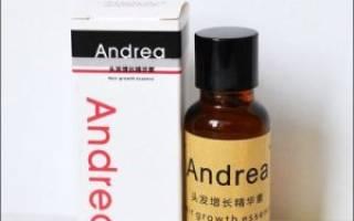 Масло Андреа (Andrea) для роста волос: способ применения, фото до и после, отзывы