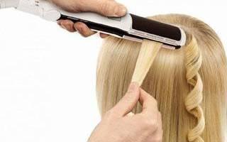 Как накрутить волосы утюжком: как правильно использовать утюжок чтобы сделать кудри и локоны