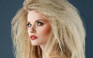Гофре для волос: фото, как сделать гофрированные волосы в домашних условиях плойкой, утюжком или без, на короткие и длинные локоны, виды гофре — крупное и мелкое