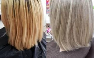Осветление прядей на темных или русых волосах в домашних условиях