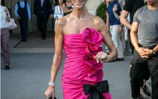 Селин Дион на Неделе моды в Париже появилась с короткой стрижкой