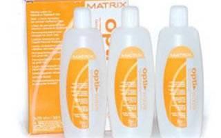Химическая завивка Матрикс (Matrix): состав, инструкция, отзывы
