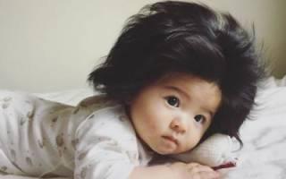 Маленькая японка прославилась на весь мир благодаря своим чрезвычайно густым волосам