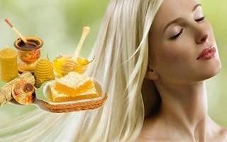 Осветление волос медом: рецепт медовой маски для осветления, фото до и после