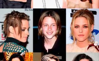 Кристен Стюарт продемонстрировала новый цвет волос